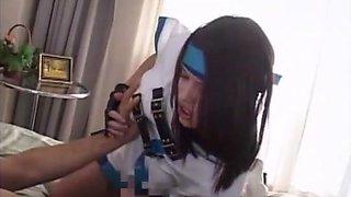 Horny Japanese girl Felix Vicious, Lacie Heart, Alicia in Amazing Fingering, Blowjob JAV clip