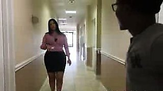 Sexy Kim Cruz Office Space Extreme CFNM