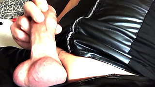 Perverted Fuck on Saturday with Sperm, Piss and Latex