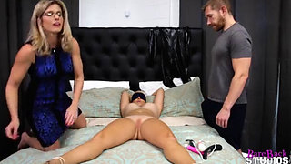 Mother Lets Her Stepson Tie Up and Fuck Her Daughter