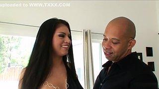 Amazing pornstar Janae Kae in horny facial, latina porn clip