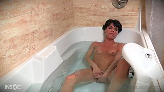 Mature brunette housewife Vera King fantasizes about being abused