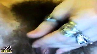 Teen Creamy Hairy Pussy Webcam Continue on MyCyka com