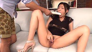 Crazy Japanese girl Miho Ichiki in Amazing JAV uncensored Dildos/Toys movie