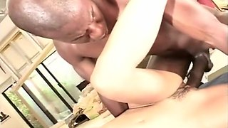 Hot Brunette Fucks Some Black Strangers