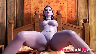 Widowmaker and Anal Sex Hentai Collection