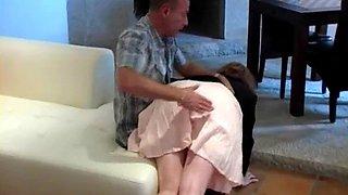 Justine head girl spanking
