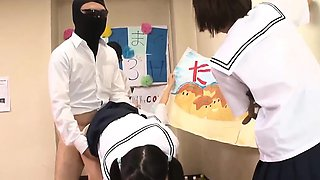 Jav Idol Schoolgirls Fucked By Masked Men In There Classroom