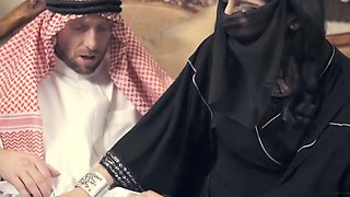 Arab wife punished by horny husband