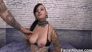 Tattoed And Pierced Whore Abuse