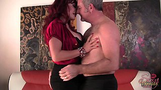 Sexy Vanessa seduced by a mature fellow for an incredible shag