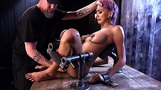 Janice Griffith  The Pope in A Toy Named Giggles - DeviceBondage