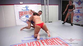 Penny barber vs mickey mod evo fightings wrestling creampie