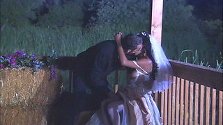 The Ebony Bride with Firm Body takes the most Cum on her