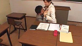 Incredible Japanese girl Natsumi Horiguchi in Crazy Blowjob/Fera, Cougar JAV clip