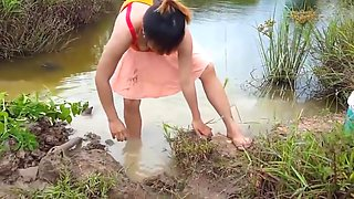 Fischen in battambang