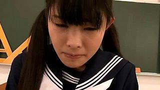 Slap cute little schoolgirl bitch