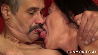 Check out really wild oral petting with Gusti Tschopp as it is really awesome