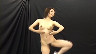 Japanese Nude Ballet Dancer Squirts Milk Out of Her Tits