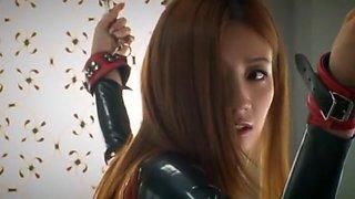 Incredible Japanese model Kaori Maeda in Amazing Latex, BDSM JAV scene
