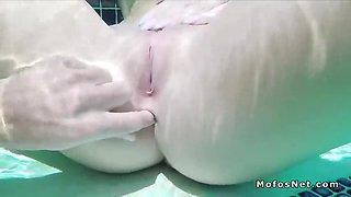 puffy nipples gf anal bangs in pool