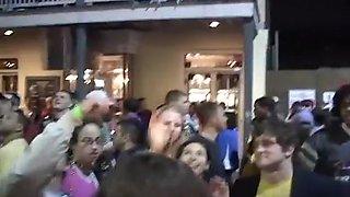 Horny Wild Sluts Stripping In Public