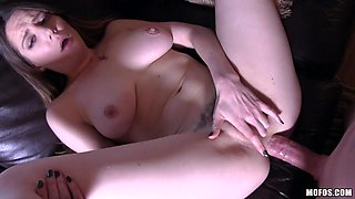 Samantha Bentley in British Babe's First Try at Anal - LetsTryAnal