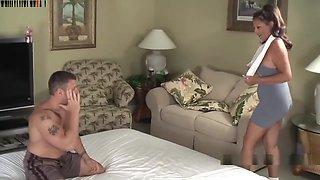 Margo Sullivan - Mom & Son Wrestling Margo Sullivan (part 1)
