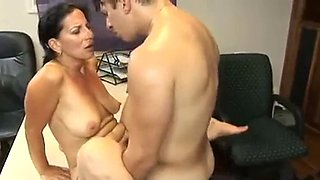 Office Maid Getting Laid