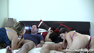 Homemade foursome swinging video 1
