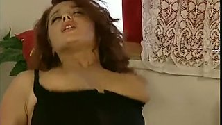 Magnificent brunette hot babe and redhead beauty addicted to anal sex