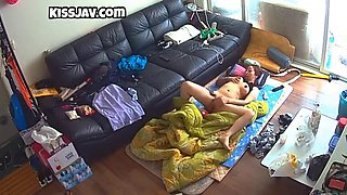 Korean big tits girl spy cam