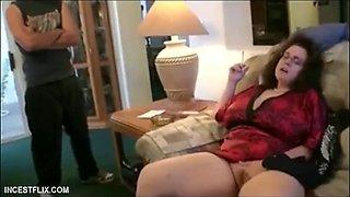 Thick stepmom huge tits