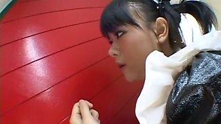 Yuki Hoshino Uncensored Hardcore Video with Swallow, Fetish scenes