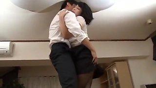 Amazing Japanese slut Yukari Orihara in Crazy Secretary, Upskirts/Panchira JAV scene