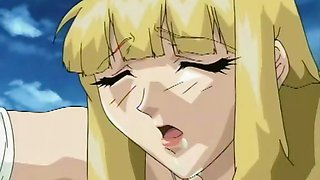 Hentai blonde penetrated with huge cock