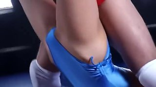 Japanese mixed wrestling ryona