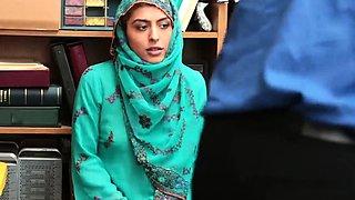 Creamy office masturbation first time Hijab-Wearing Arab