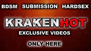Krakenhot - Obedient bride in a homemade exclusive scene