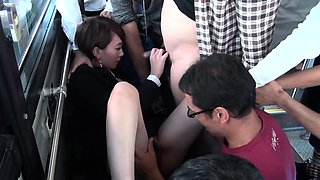 Jav Office Girl Machida Gangbang Uncensored On Public Bus