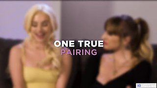 GirlsWay: Romantic series make Aria Banks and Angel Youngs lesbian on PornHD