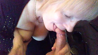 64 yr old mother inlaw sucking cock