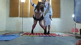 Naughty Schoolgirl Caught and Punished Part 1 of 4