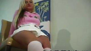 Pretty In White Panties