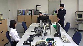 Pantyhose Miniskirt Secretary at Office 3of4 censored ctoan