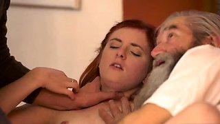 Old french guy anal and family taboo young Unexpected