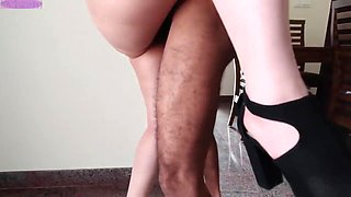 Wife seduces for party