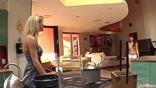 Cherie Deville makes love with her step- daughter quite often, and it always feels so good