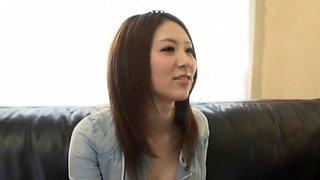 Amazing Japanese chick in Horny Panties, Solo Girl JAV scene