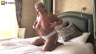 Hot British lady playing with herself